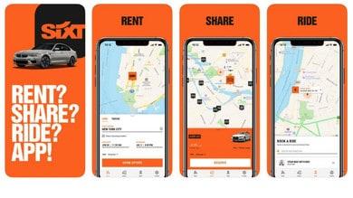 SIXT, nasce l'app dedicata ai clienti