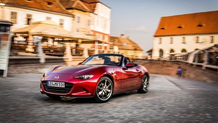 Mazda MX-5 i-Eloop: arriva ilmild-hybrid