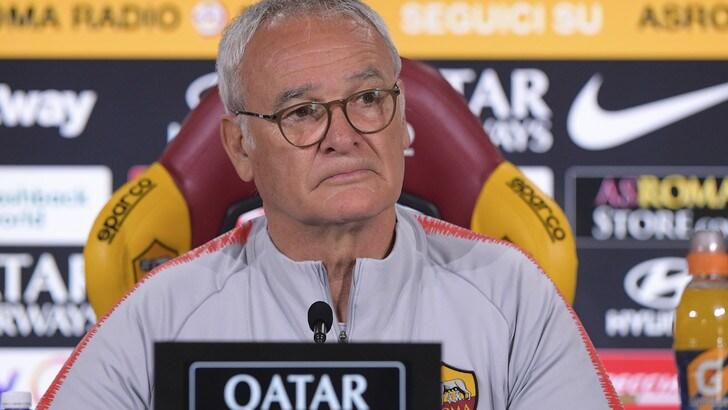 Roma, Ranieri: «Conte l'anno prossimo? Serve la Champions»