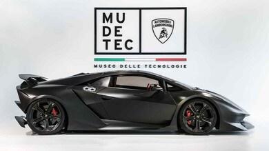 Mudetec, a Sant'Agata Bolognese tutto sulla storia Lamborghini