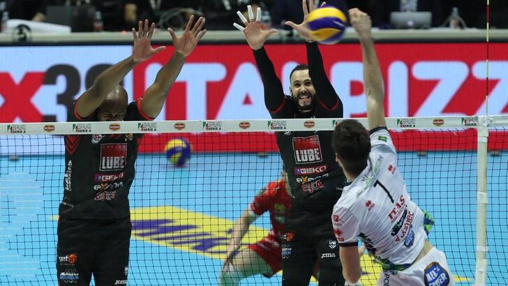 Volley: Superlega, venerdì in campo per Gara 2 delle Semifinali