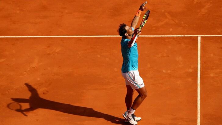 Tennis, Montecarlo: Nadal batte Dimitrov e vola ai quarti contro Guido Pella