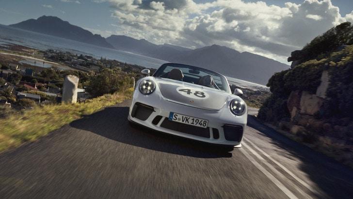 Porsche 911 Speedster: stile vintage con design Heritage