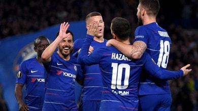 Europa League: Chelsea in semifinale, impresa Eintracht, passa anche il Valencia