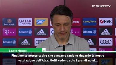 """Kovac: """"Sull'Ajax avevamo ragione noi"""""""