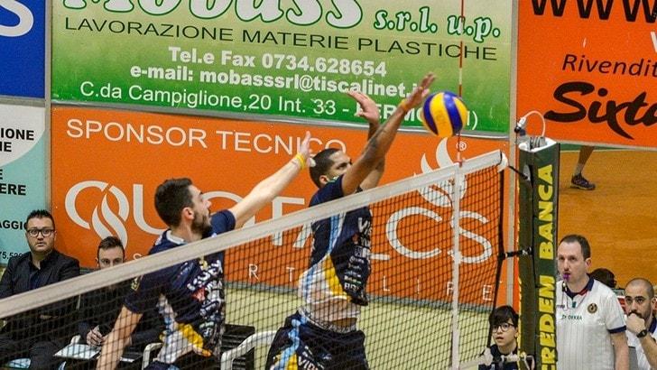 Volley: A2 Maschile, Grottazzolina ok anche in Gara 2, Leverano in A3