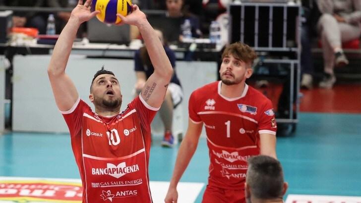 Volley: A2 Maschile, Play Off Promozione, successi per Bergamo e Piacenza