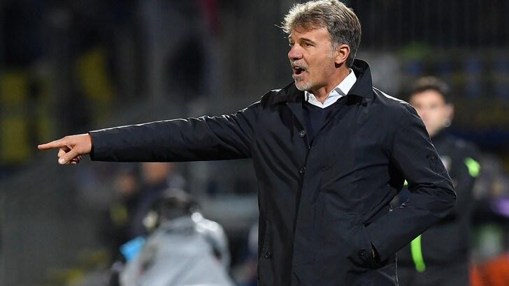 Serie A Frosinone, Baroni: «Nessun calo di attenzione, crediamo nella salvezza»