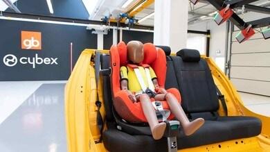 Cybex apre un centro crash test per sicurezza bambini in auto