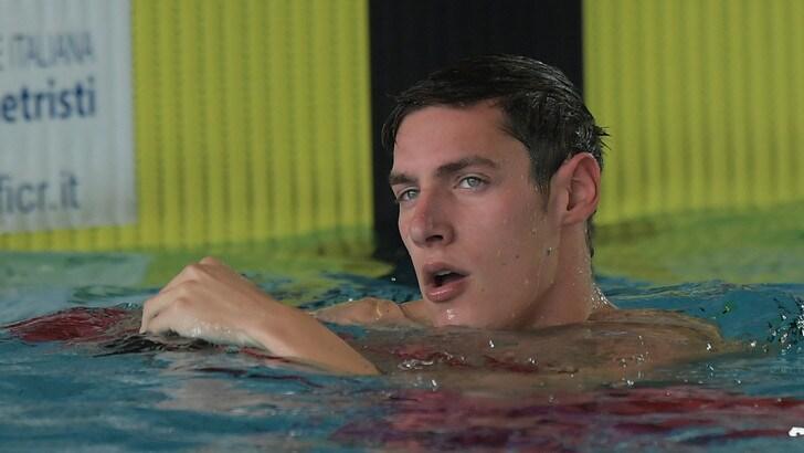 Nuoto, Andrea Vergani sospeso per doping: positivo al THC