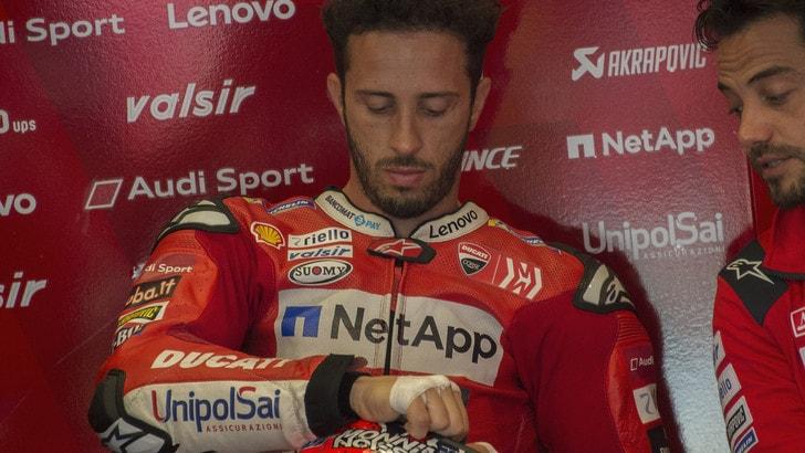 MotoGp Ducati, Dovizioso: «È incredibile vedere Rossi in pista»