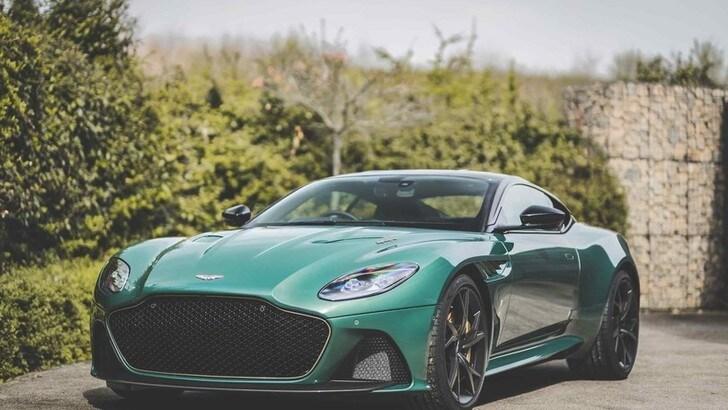 Aston Martin DBS 59, edizione omaggio alla vittoria di Le Mans '59