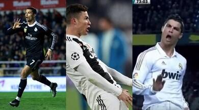 Juve, tutti i gesti di Ronaldo