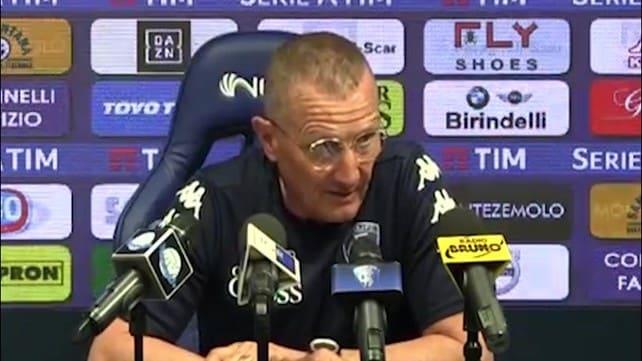 """Andreazzoli: """"La spinta dei nostri tifosi è fondamentale"""""""