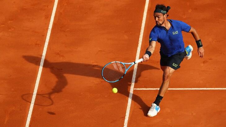Tennis, Montecarlo: Fognini show, vittoria in rimonta contro Coric