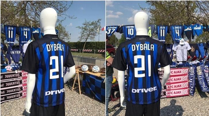 Ad Appiano Gentile la 21 di Dybala è nerazzurra! E c'è la sciarpa di Juve-Ajax