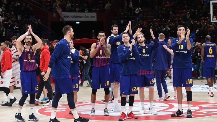 Basket, Eurolega: è dominio spagnolo con Barcellona e Real Madrid