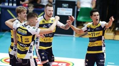 Volley: Superlega, Modena  batte Perugia e riporta la sfida sull'1-1
