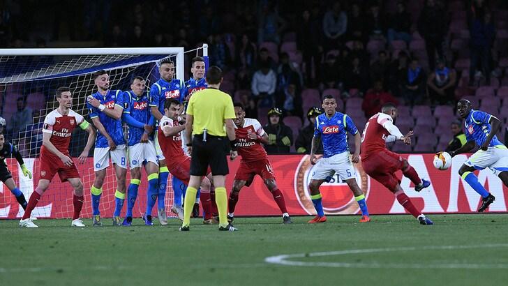 Napoli, Meret: «Sul gol dell'Arsenal ho sbagliato io»
