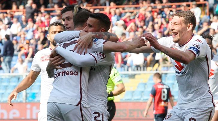 Genoa-Torino 0-1: decide un gol di Ansaldi