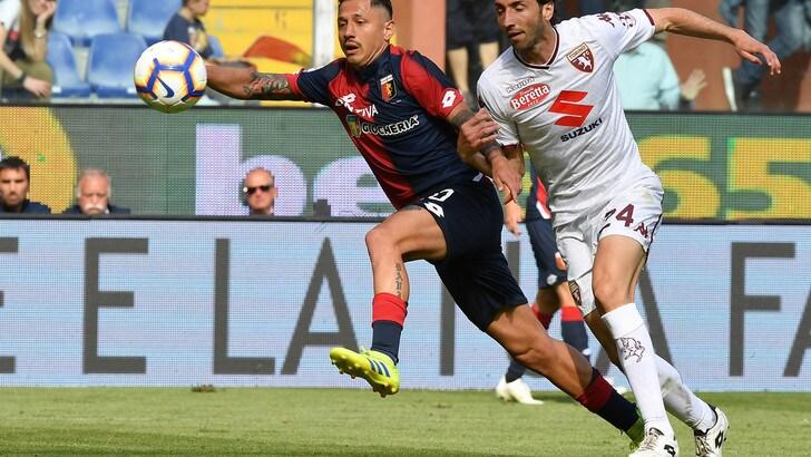 Serie A Genoa-Torino 0-1, il tabellino