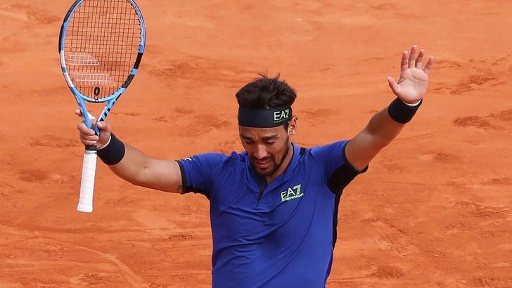 Tennis, Montecarlo: pazzesco Fognini, 2-0 a Nadal. È finale!