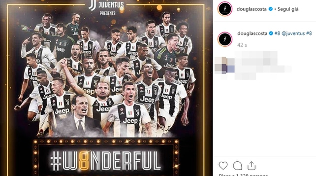 Juventus, le reazioni dei giocatori (anche gli ex) alla vittoria dello scudetto