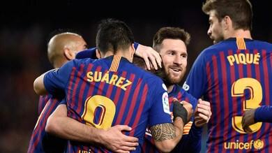 Messi a secco, ma il Barcellona vince e si avvicina alla Liga