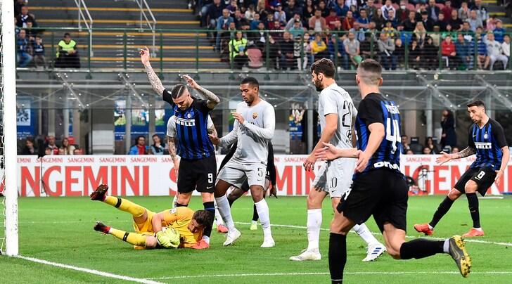 Serie A, Inter-Roma 1-1: El Shaarawy non basta. Perisic firma il pari