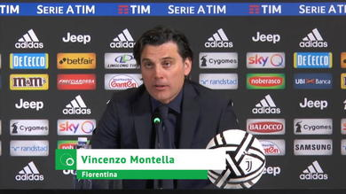 """Montella: """"Grande partita, dispiace per il risultato"""""""