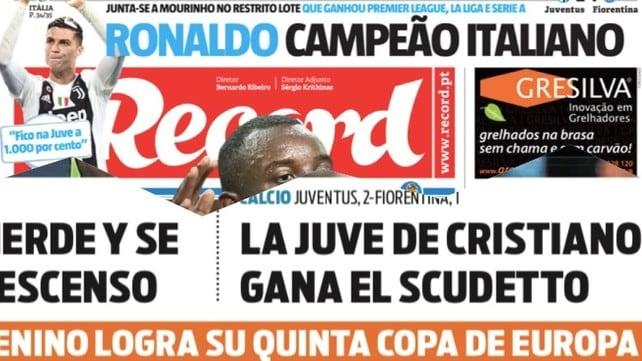La stampa estera ai piedi del re: «È la Juve di Ronaldo!»