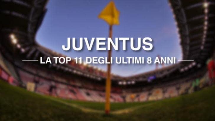 Juventus - La Top 11 degli 8 Scudetti