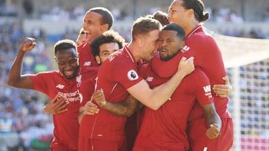 Premier: il Liverpool si riprende la vetta, Arsenal ko col Crystal Palace