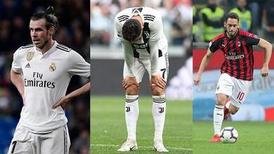 Bale, Ronaldo e Calhanoglu: ecco i peggiori tiratori di punizioni d'Europa