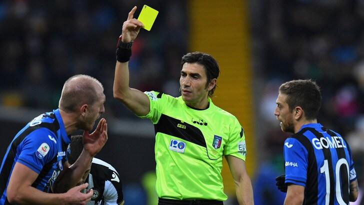 Coppa Italia: Atalanta-Fiorentina a Calvarese, Mazzoleni per Milan-Lazio