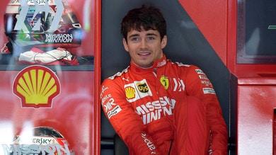 F1 Ferrari, Leclerc: «In Azerbaigian ho sempre fatto bene»