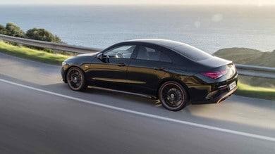 Mercedes CLA Coupé: il test al volante