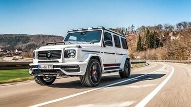 Mercedes Classe G, il super tuning di Lumma Design