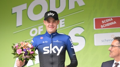Ciclismo, Tour of the Alps: Sivakov conquista la seconda tappa. Terzo Cattaneo