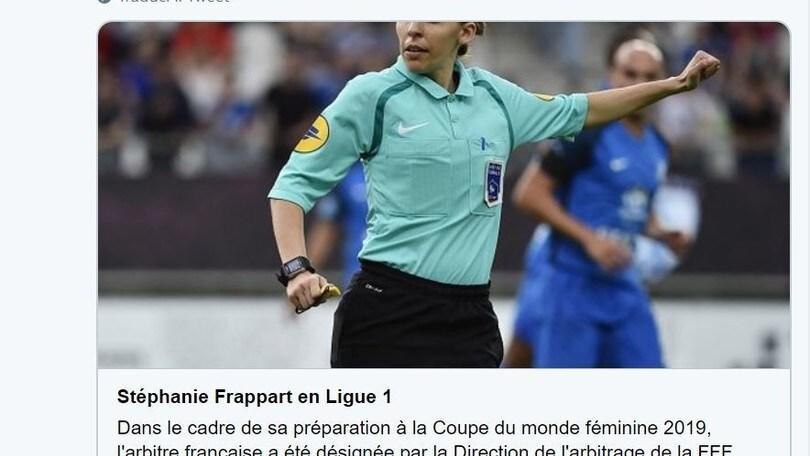 Ligue 1: promossa arbitro donna, dirigerà Amiens-Strasburgo