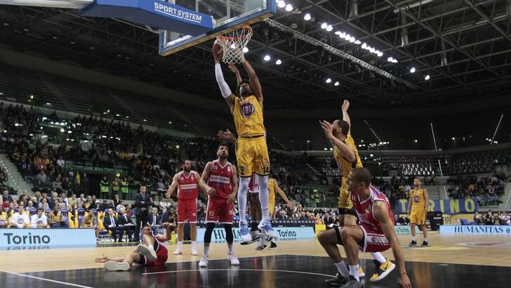 Basket, Serie A: Torino è salva! Fondamentale l'arrivo di Gerasimenko
