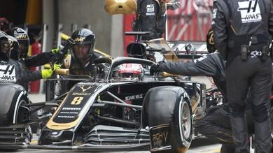 F1 Haas, Delétraz tester al simulatore