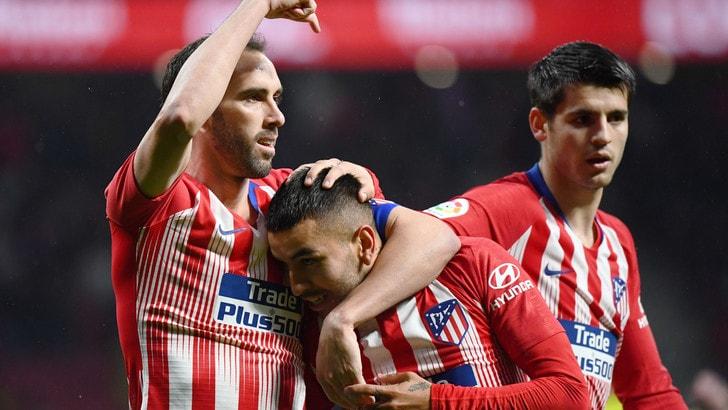 Liga, il Valencia sbatte contro lo scoglio Atletico. Bene il Bilbao, poker Levante