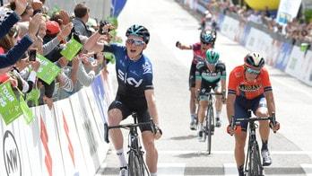 Tour of the Alps, quarta tappa: Hart batte in volata Nibali