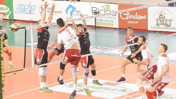 Volley: Play Off A2 Maschile, Santa Croce elimina Gioia del Colle