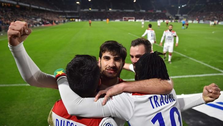 Ligue 1, il Lione vince di forza a Bordeaux