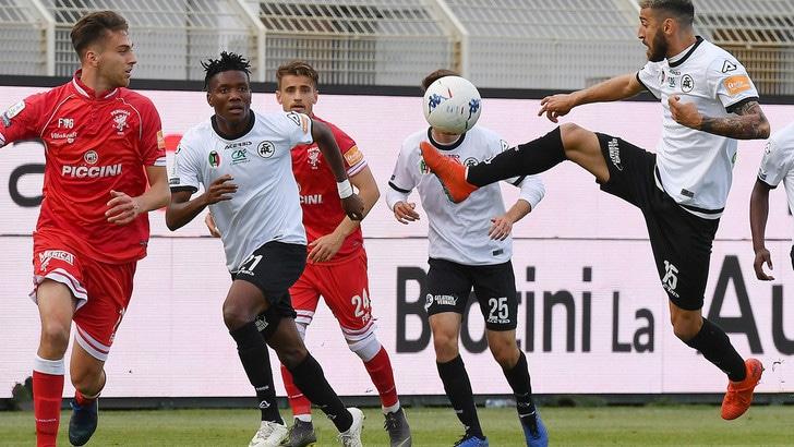 Serie B, a Marino non basta Okereke: Spezia-Perugia 1-1