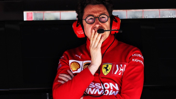 F1 Ferrari, Binotto: «E' stata una lezione, ma anche uno stimolo a fare meglio»