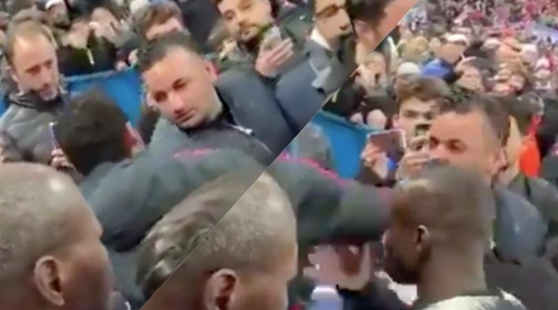 Neymar perde la testa: pugno in faccia al tifoso