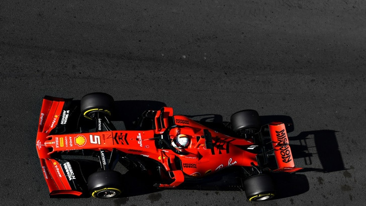 F1 Azerbaigian, Vettel: «Non è la situazione che volevamo»